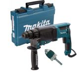 Makita HR2630X7 Martillo ligero con adaptador sds-plus en maletín - 800W - 2,4J