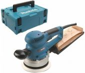 Makita BO6030J Lijadora orbital en Mbox - 310W - 150mm - variable