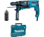 Makita HR2631FT SDS-plus Martillo combinado en maletín - 800W - 2,4J