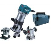 Makita RT0700CX2J Fresadora multifunción en Mbox - 710W - 8mm