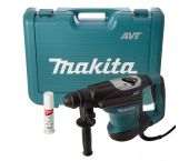 Makita HR3210FCT SDS-plus martillo combinado en maletín - 850W - 6.4J