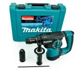 Makita HR2811FT SDS-plus martillo combinado + portabrocas martillo ligero en maletín - 800W - 2.9J