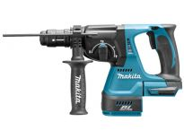 Makita DHR243Y1J  18V Li-Ion Martillo ligero SDS-plus + broca intercambiable + (1 Batería 1.5Ah) en maletín Mbox