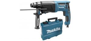 Makita HR2600 SDS-plus Martillo demoledor en maletín - 800W - 2,4J